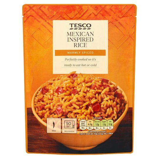 Tesco Microwave Mexican Inspired Rice 250g