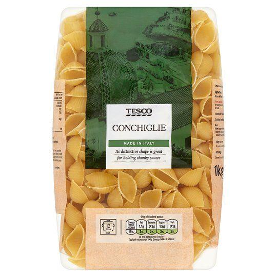 Tesco Conchiglie Pasta Shells 1kg