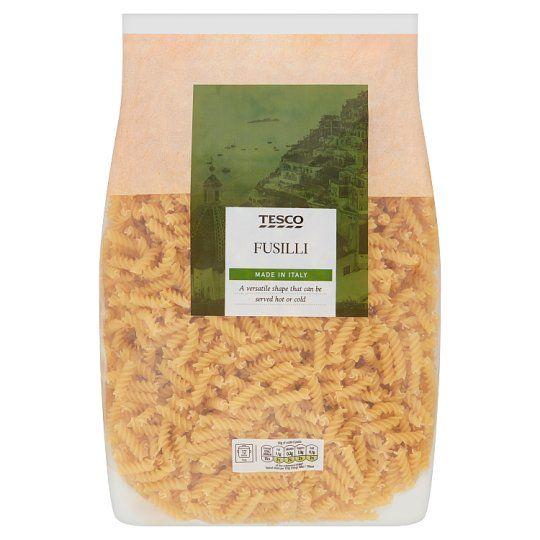 Tesco Fusilli Pasta Twists 3kg