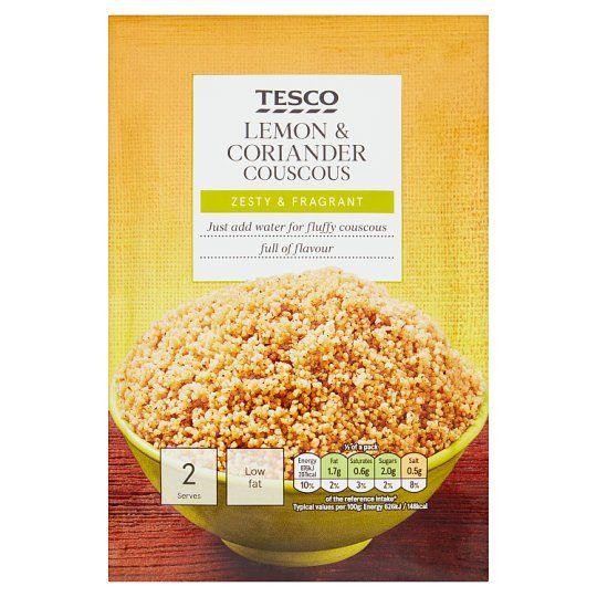 Tesco Lemon & Coriander Cous Cous 110g