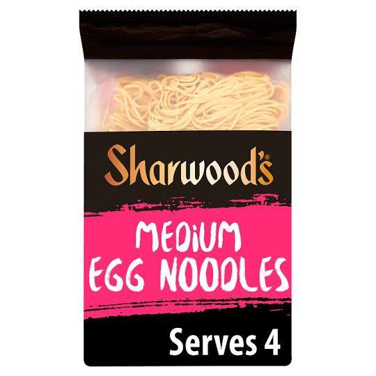 Sharwoods Medium Egg Noodles 2X375g