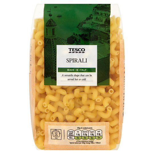 Tesco Spirali Pasta 500g