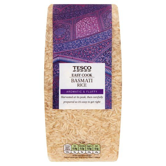 Tesco Easy Cook Basmati Rice 1kg