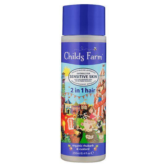 Childs Farm 2 In 1 Shampoo Conditioner Rhubarb 250ml