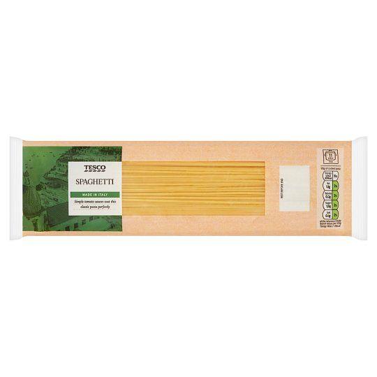 Tesco Short Spaghetti Pasta 500g