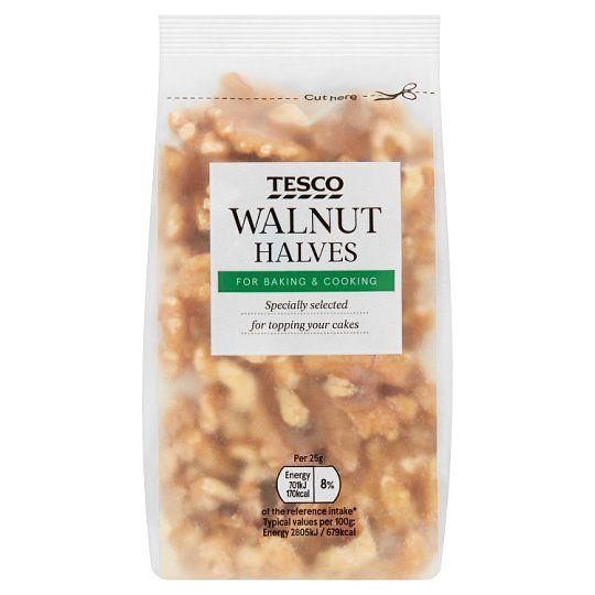 Tesco Walnut Halves 100g