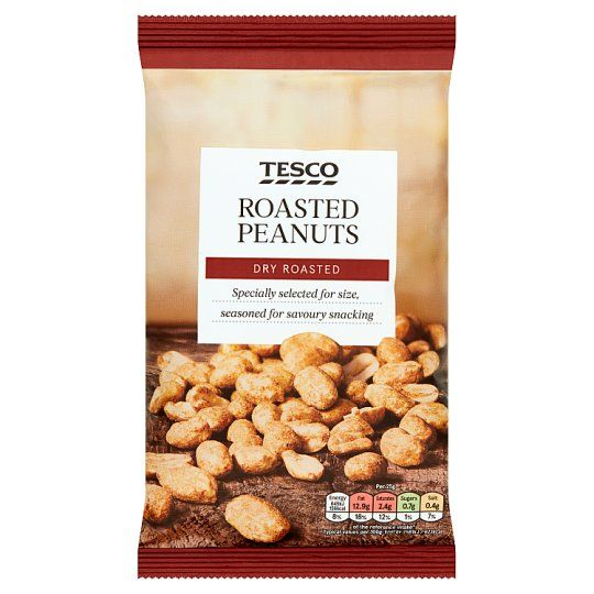 Tesco Dry Roasted Peanuts 200g