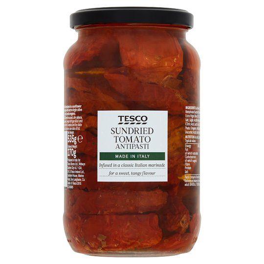 Tesco Sundried Tomato Antipasti 535g