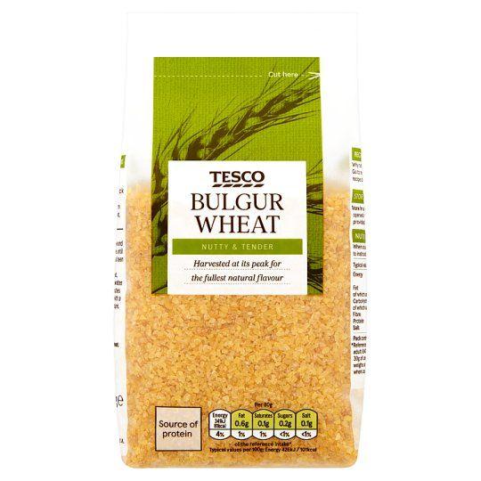 Tesco Wholefoods Bulgar Wheat 500g