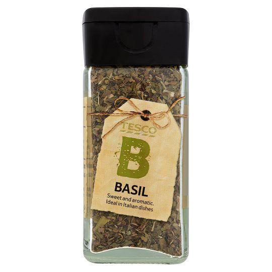 Tesco Dried Basil 16g