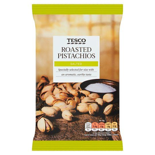 Tesco Roasted & Salted Pistachios 150g