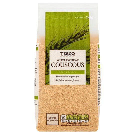 Tesco Whole Wheat Cous Cous 500g