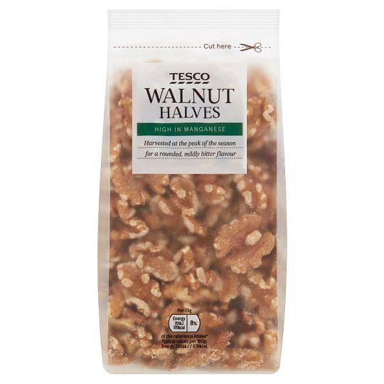Tesco Walnut Halves 250g