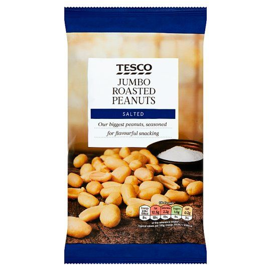 Tesco Jumbo Roasted Salted Peanuts 200g