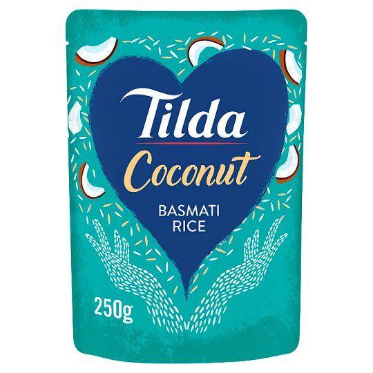 Tilda Coconut Steamed Basmati Rice 250g