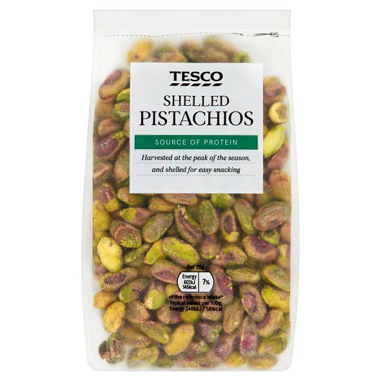 Tesco Pistachio Nuts 250g