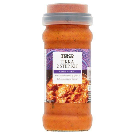 Tesco 2 Step Tikka Cooking Sauce 350g