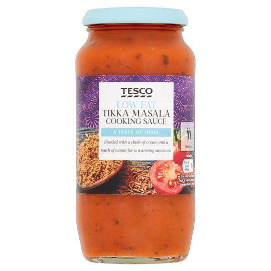 Tesco Low Fat Tikka Masala Sauce 500g