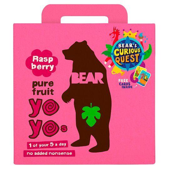Bear Pure Fruit Yoyo Raspberry 5 X 20g