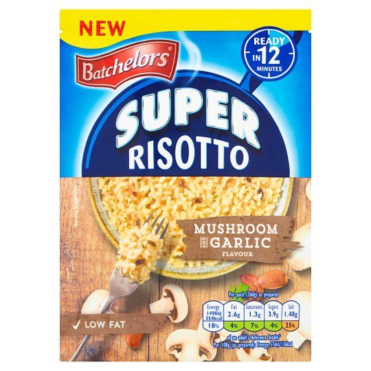 Batchelors Risotto Mushroom and Garlic 100g