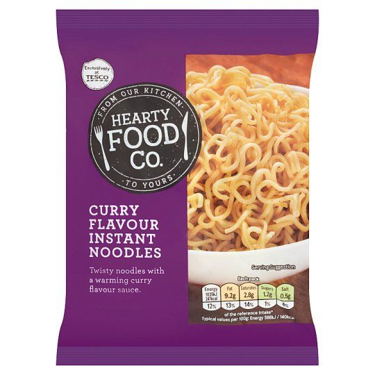 Hearty Food Co. Curry Flavour Noodles 65g