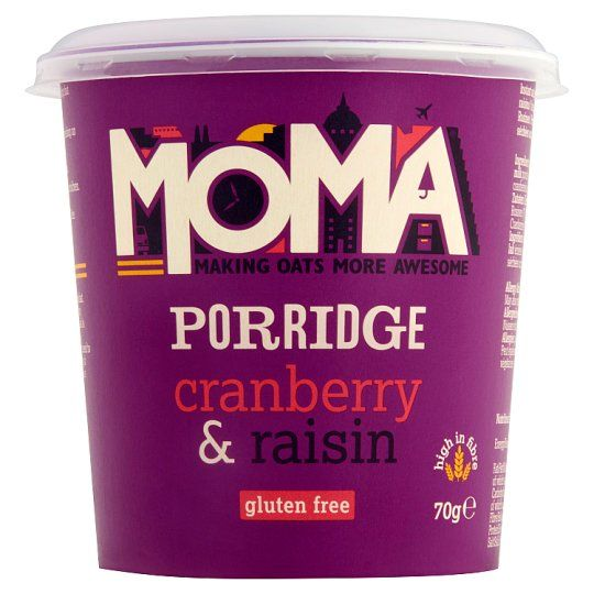 Moma Porridge Pot Cranberry and Raisin 70g