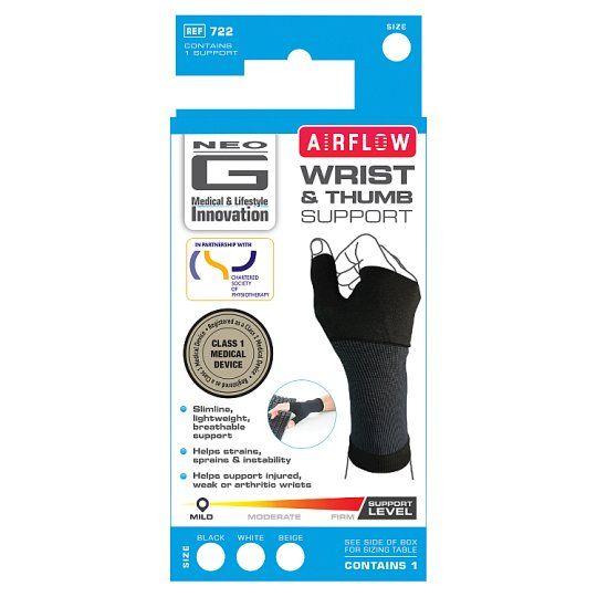 Neo G Airflow Wrist and Thumb Support Medium