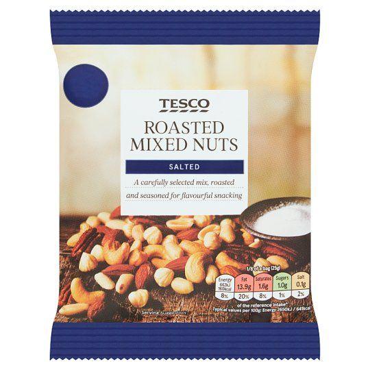 Tesco Roasted & Salted Nut Snacks 200g