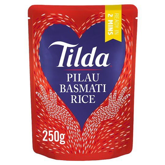 Tilda Pilau Steamed Basmati Rice Classic 250g