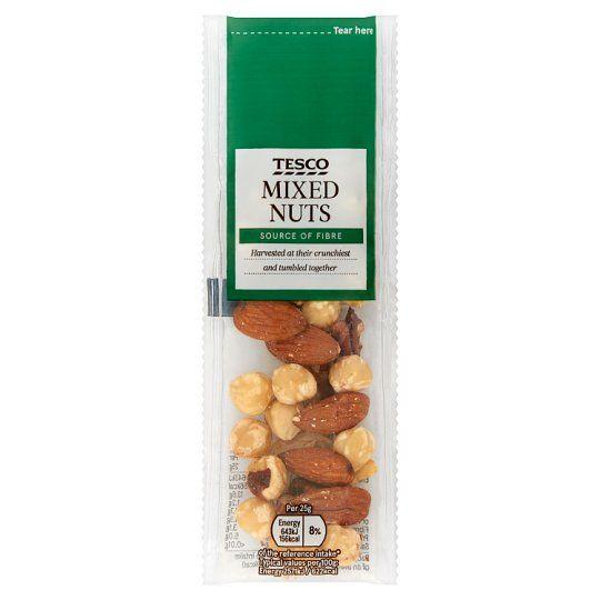 Tesco Mixed Nuts 25g