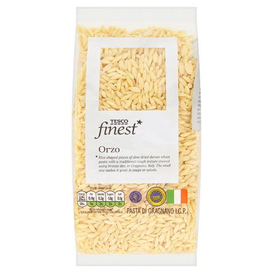Tesco Finest Orzo Pasta 500g
