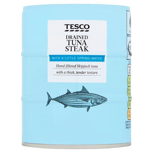 Tesco Drained Tuna In Spring Water 3 X 110g