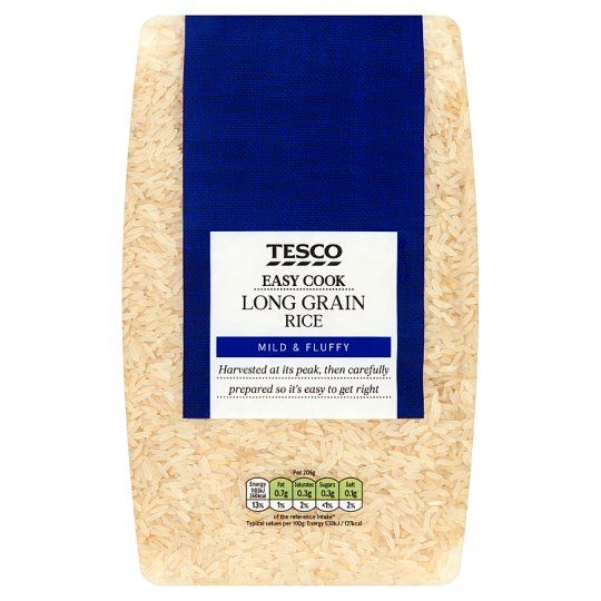 Tesco Easy Cook Long Grain Rice 2kg