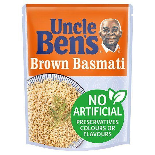 Uncle Bens Microwave Brown Basmati Rice 250g