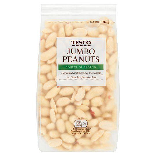 Tesco Jumbo Peanuts 300g