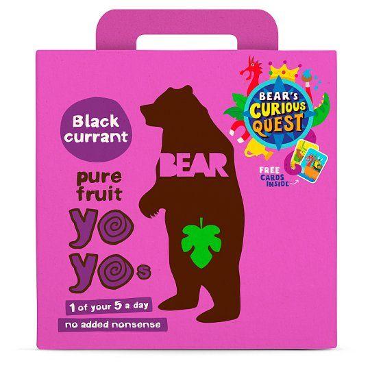 Bear Blackcurrant Yoyo Multipack 5X20g