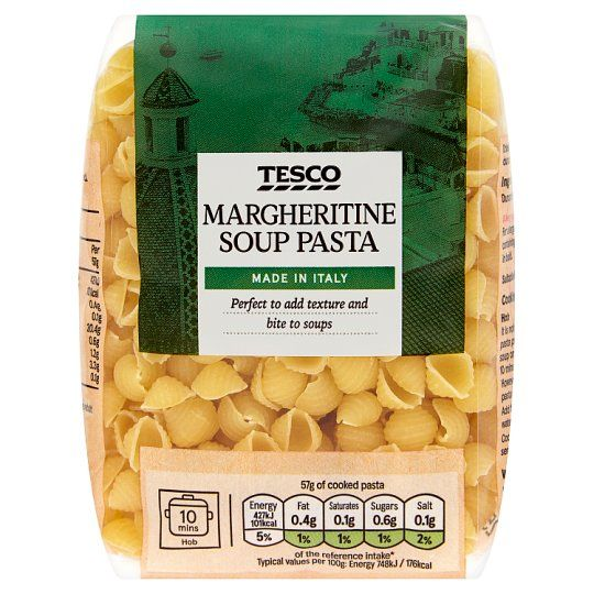 Tesco Margheritine Soup Pasta 250g