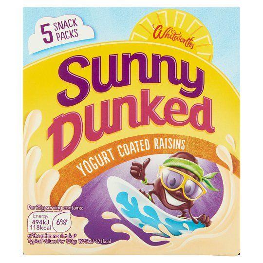Sunny Raisin Yogurt Multipack 5X25g