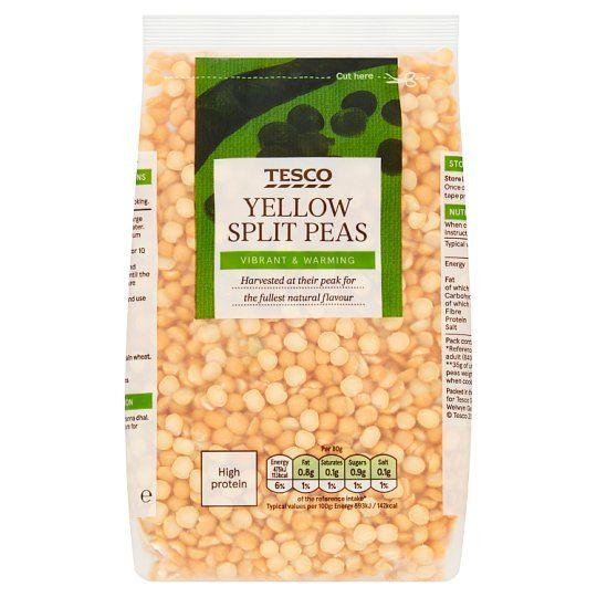 Tesco Yellow Split Peas 500g