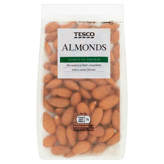 Tesco Whole Food Sweet Almonds 250g