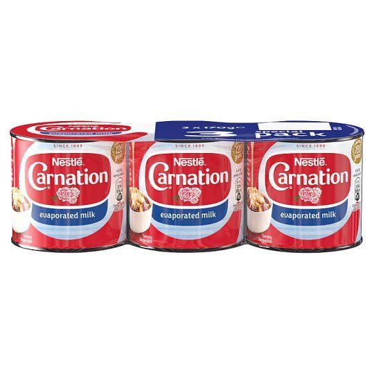 Carnation Evaporated Milk 3 X 170g