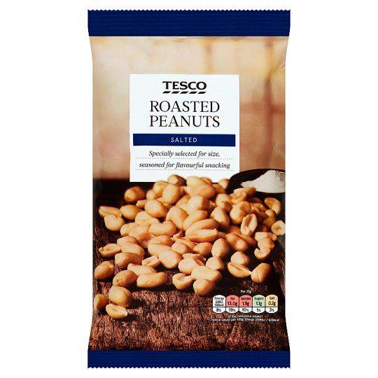 Tesco Roasted Salted Peanuts 550g