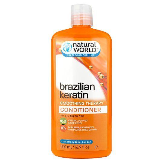 Natural World Keratin Conditioner 500ml