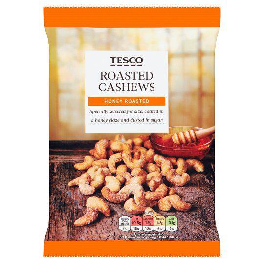 Tesco Honey Roasted Cashews 150g