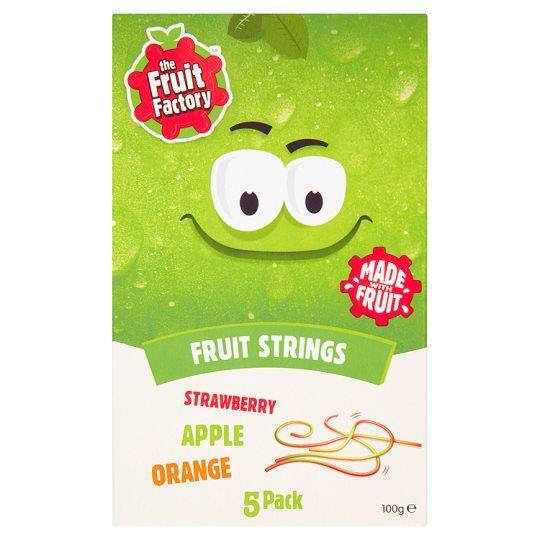 Fruit Factory Multi Fruit Strings 5 Pack 100g