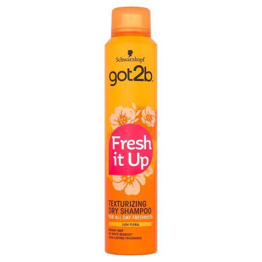 Schwarzkopf Got2b Fresh It Up Texture Dry Shampoo 200ml