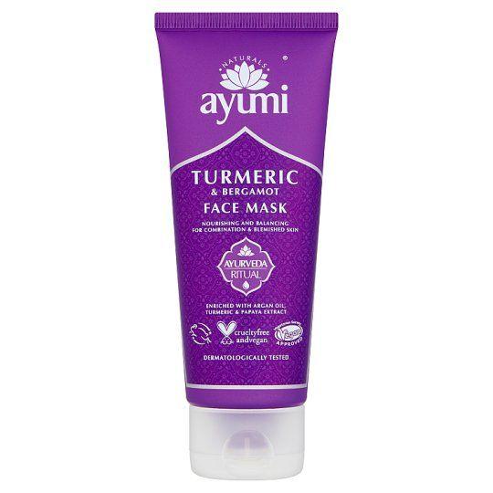 Ayumi Turmeric and Bergamot Face Mask 100ml