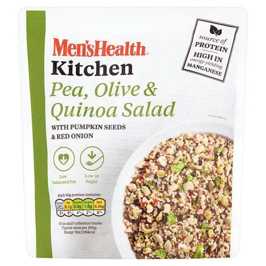 Men's Health Pea Olive and Quinoa Salad 180g