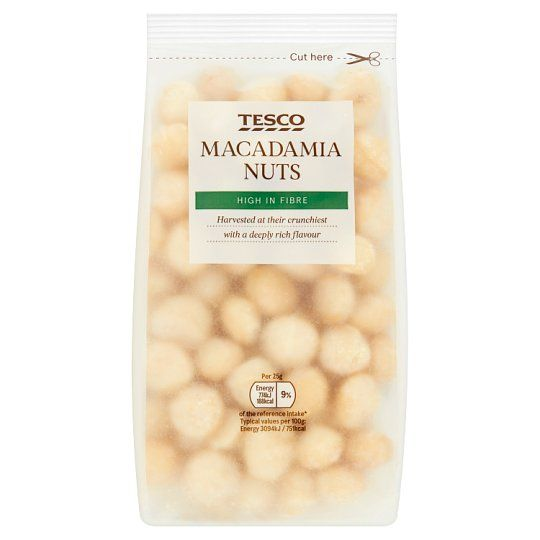 Tesco Macadamia Nuts 250g