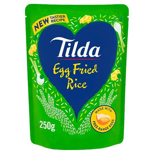 Tilda Egg Fried Steamed Basmati Rice 250g